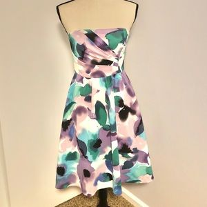 Stunning Floral Strapless Limited Dress